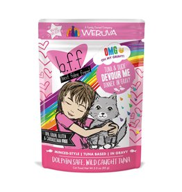 BFF Best Feline Friend BFF Devour Me Tuna & Duck Dinner Cat Food 3oz Pouch