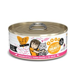 BFF Best Feline Friend BFF Soulmates Tuna & Salmon Dinner Canned Cat Food 5.5oz
