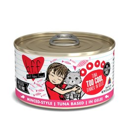 BFF Best Feline Friend BFF Too Cool Tuna Dinner Canned Cat Food 3oz