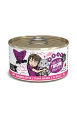 BFF Best Feline Friend BFF Twosome Tuna & Tilapia Dinner Canned Cat Food 3oz