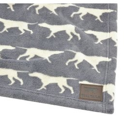 "Tall Tails Grey Icon Dog Blanket 30"" x 40"""