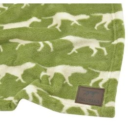 "Tall Tails Sage Icon Dog Blanket 30"" x 40"""