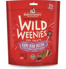 Stella & Chewy's Stella & Chewy's Freeze-Dried Wild Weenies Game Bird Recipe Dog Treats 3.25oz