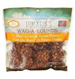 Tucker's Wag-A-Rounds Beef Liver & Sweet Potato Dog Treats 6oz