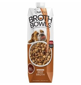 Fruitables Fruitables Broth Bowls Beef Broth for Dogs 33.8oz