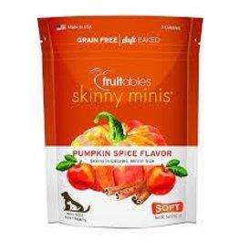 Fruitables Fruitables Skinny Mini Pumpkin Flavor Chewy Dog Treats 5oz