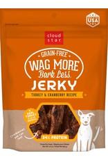 Cloud Star Cloud Star Wag More Bark Less Turkey & Cranberry Recipe Jerky Dog Treats 10oz