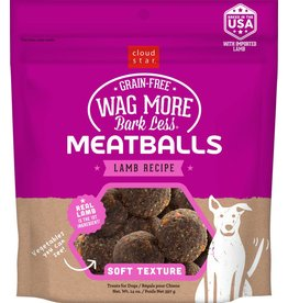 Cloud Star Cloud Star Wag More Bark Less Lamb Recipe Meatballs Dog Treats 14oz