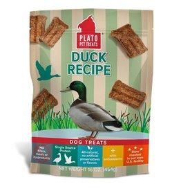 Plato Duck Recipe Dog Treats 16oz