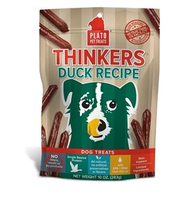 Plato Plato Thinkers Duck Recipe Dog Treats 10oz