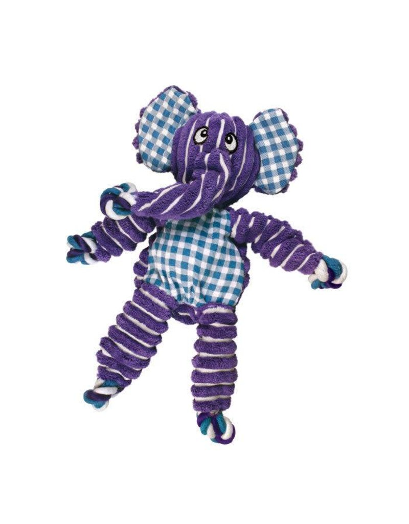 Kong Kong Floppy Knots Elephant Small Dog Toy