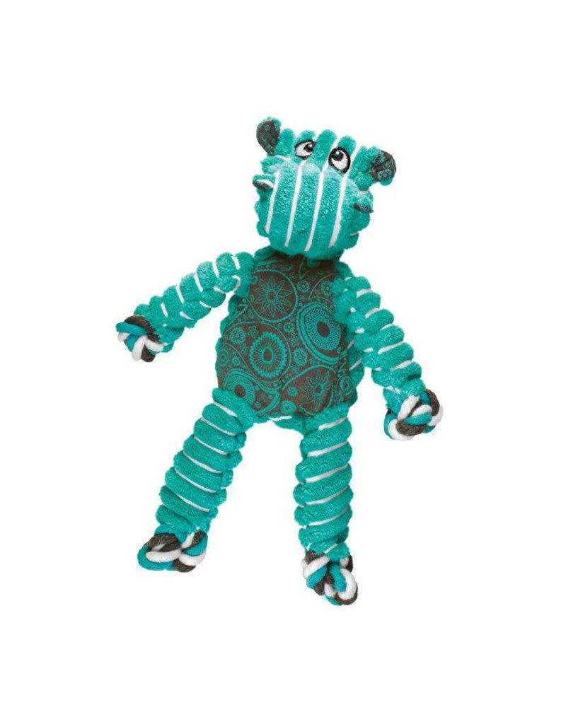 Kong Floppy Knots Hippo Small Dog Toy