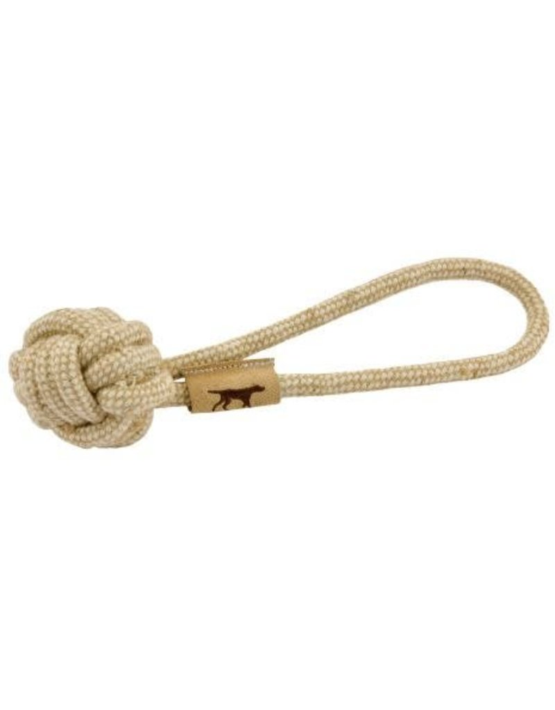 Tall Tails Natural Cotton & Jute Rope Tug Dog Toy 13""