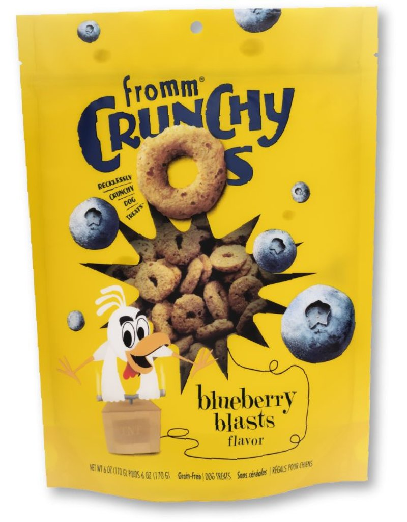 Fromm Family Foods Fromm Crunchy Os Blueberry Blasts Dog Treats 6oz
