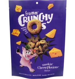 Fromm Family Foods Fromm Crunchy Os Smokin Cheese Plosions Dog Treats 6oz