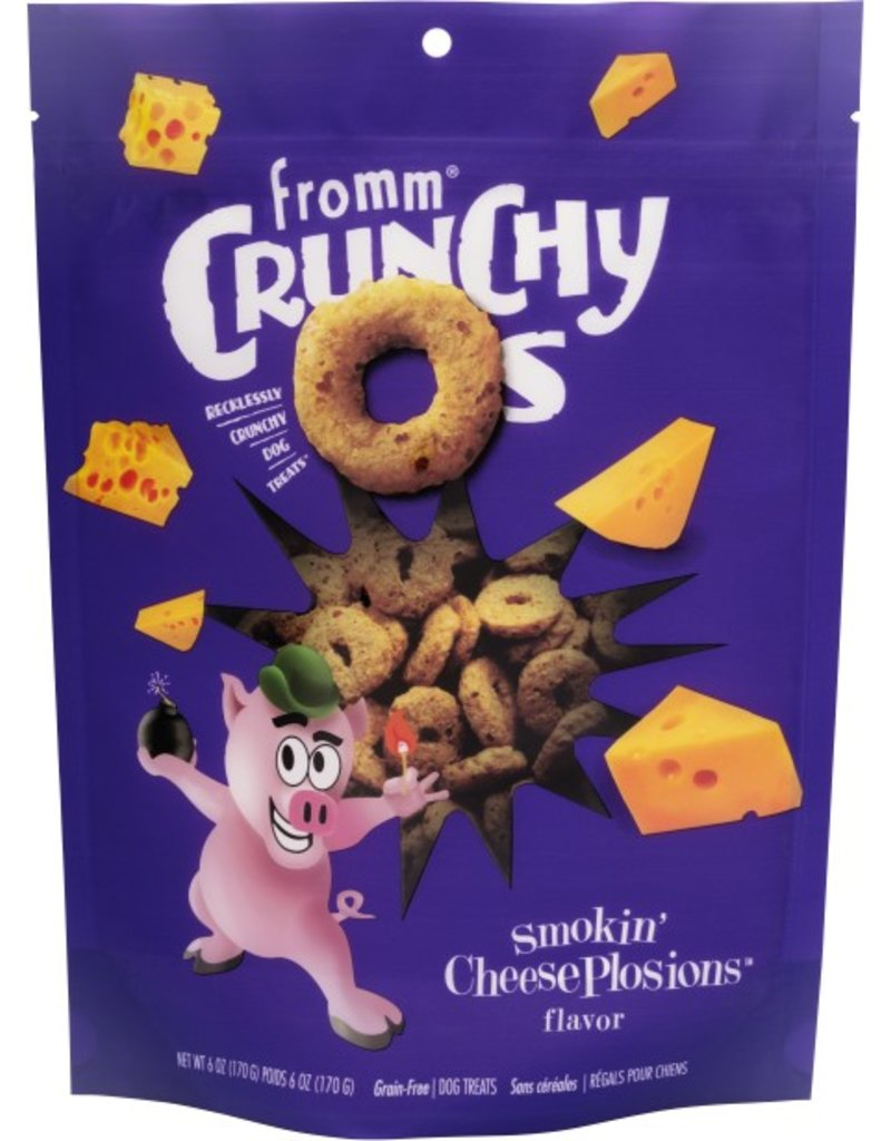 Fromm Fromm Crunchy Os Smokin Cheese Plosions Dog Treats 6oz