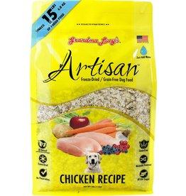 Grandma Lucy's Artisan Chicken Recipe Freeze-Dried Dog Food 3lb