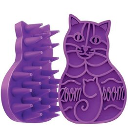 Kong ZoomGroom Multi-Use Cat Brush
