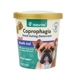 Naturvet Coprophagia Stool Eating Deterrent Dog Soft Chews 70ct