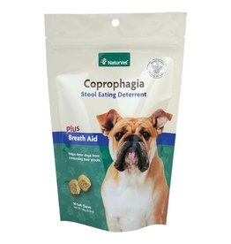 Naturvet Coprophagia Stool Eating Deterrent Dog Soft Chews 90ct