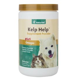 Naturvet Kelp Help Dog & Cat Supplement Powder 1lb