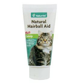 Naturvet Natural Hairball Aid with Catnip for Cats 3oz