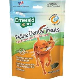 Emerald Pet Feline Dental Treats with Chicken 3oz