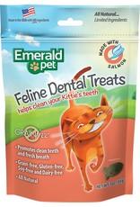 Emerald Pet Emerald Pet Feline Dental Treats with Salmon 3oz