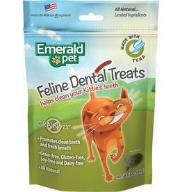 Emerald Pet Emerald Pet Feline Dental Treats with Tuna 3oz