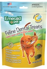 Emerald Pet Emerald Pet Feline Dental Treats with Turducky 3oz