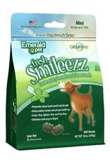 Emerald Pet Smileezz Mini Dental Chews for Dogs 12oz