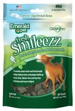 Emerald Pet Smileezz Mini Dental Chews for Dogs 6oz