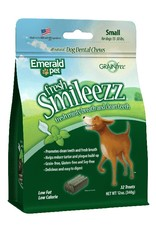 Emerald Pet Smileezz Small Dental Chews for Dogs 12oz