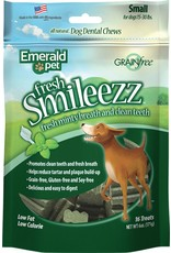 Emerald Pet Smileezz Small Dental Chews for Dogs 6oz