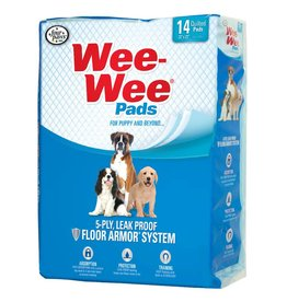 """Four Paws Wee-Wee Pads 14pk 22"""" x 23"""""""