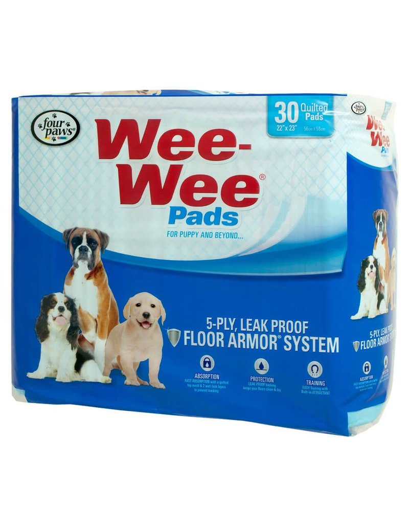"""Four Paws Wee-Wee Pads 30pk 22"""" x 23"""""""