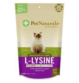 Pet Naturals of Vermont L-Lysine Cat Chews 60ct