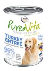 Pure Vita Pure Vita Turkey Entree Grain Free Canned Dog Food 13oz