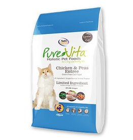 Pure Vita Grain-Free Chicken & Peas Entree Dry Cat Food