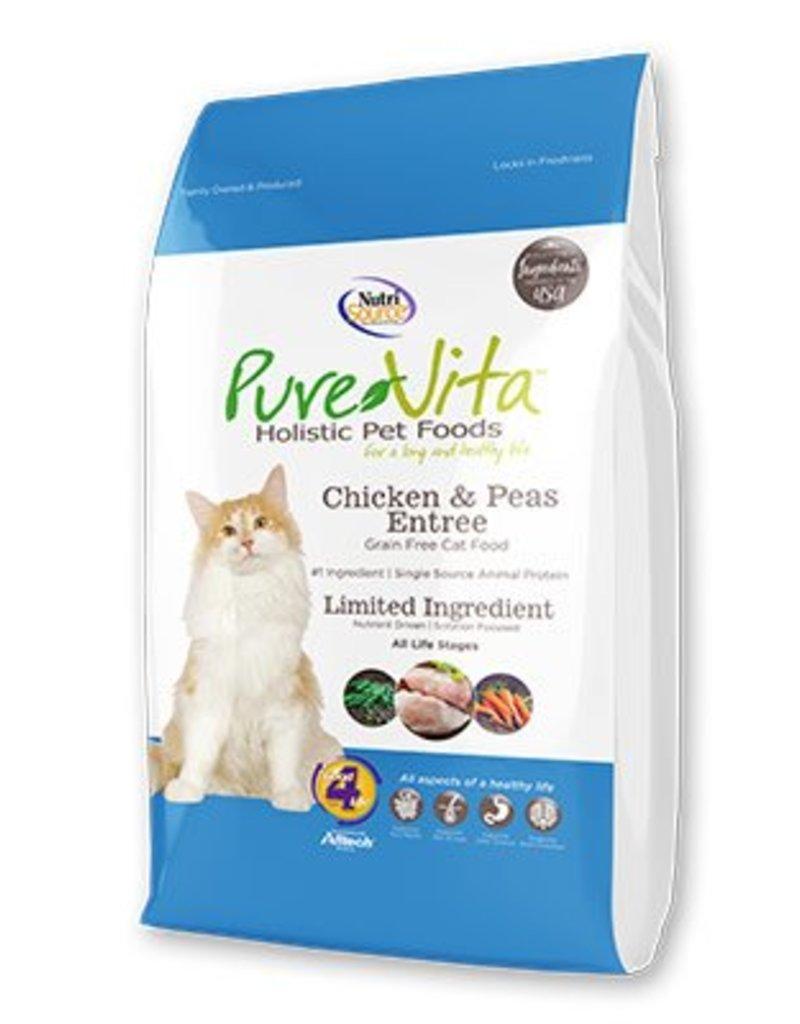 Pure Vita Pure Vita Chicken & Peas Grain Free Entree Dry Cat Food
