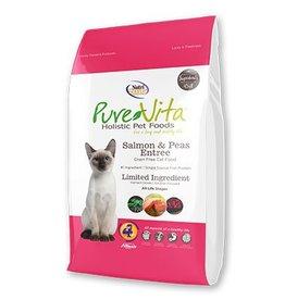 Pure Vita Grain-Free Salmon & Peas Entree Dry Cat Food