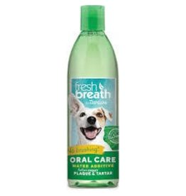 Tropiclean Fresh Breath Oral Care Water Additive for Dogs 32oz