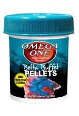 Omega One Omega One Betta Buffet Pellets 1oz