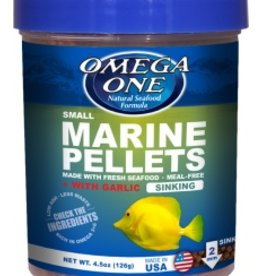 Omega One Omega One Small Marine Pellets Sinking 4.5oz