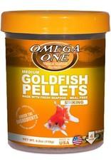 Omega One Omega One Medium Goldfish Pellets Sinking 4.2oz