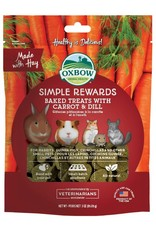 Oxbow Oxbow Simple Rewards Baked Treats Carrot & Dill 3oz
