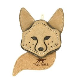"""Tall Tails Natural Scrappy Fox Dog Toy 4"""""""