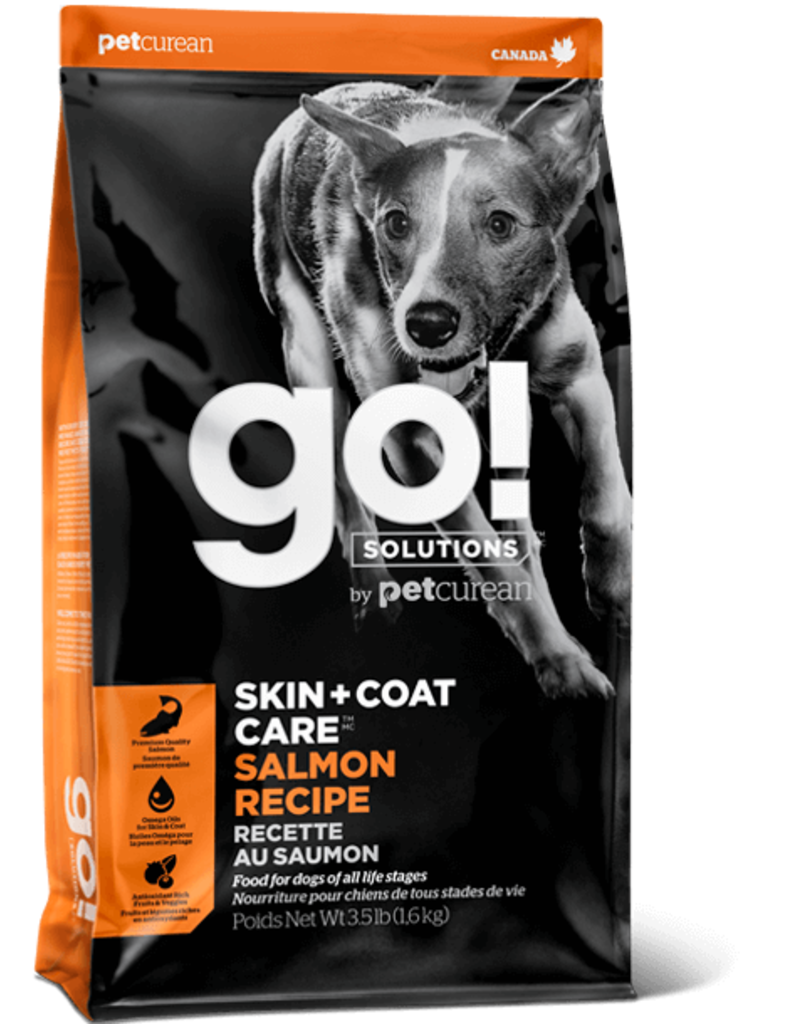 Petcurean Petcurean GO Skin & Coat Care Salmon Recipe Dry Dog Food