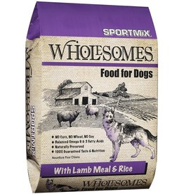Sportmix Sportmix Wholesomes Lamb Meal & Rice Dry Dog Food 40lb