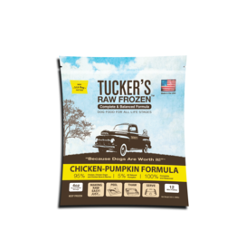 Tucker's Tucker's Raw Frozen Complete Chicken-Pumpkin Formula Dog Food 3lb